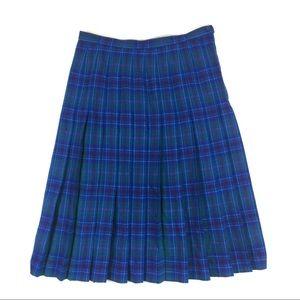 Pendleton Vintage Plaid Skirt